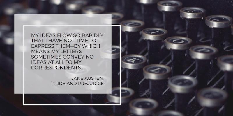 Nina Martin, Contact page, Typewriter