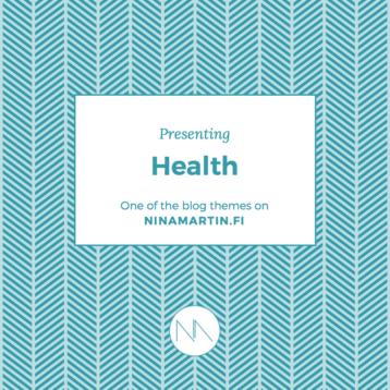 Presenting Blog Categories: Health