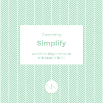 Presenting Blog Categories: Simplify
