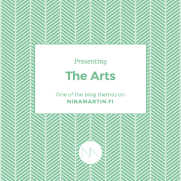 Presenting Blog Categories: The Arts