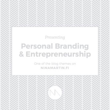 Presenting Blog Categories: Personal Branding & Entrepreneurship