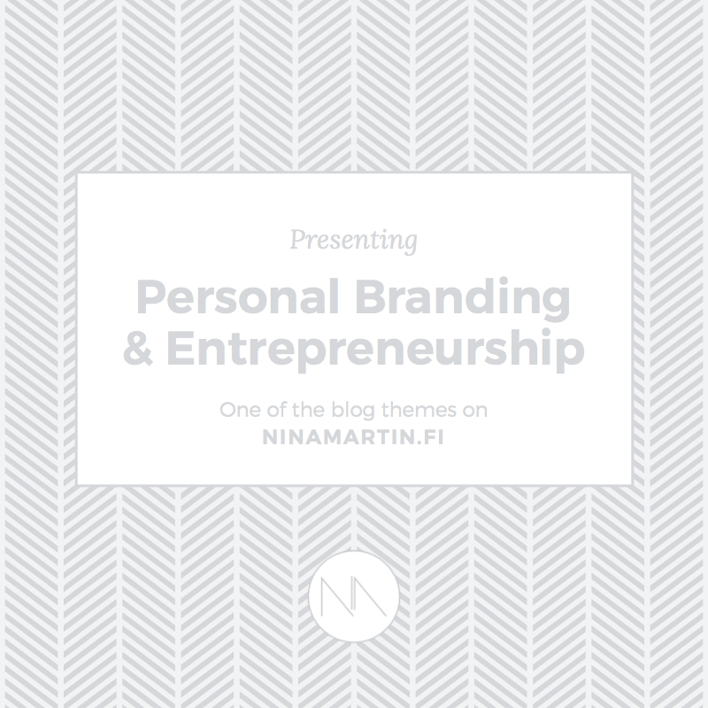 Presenting Blog Categories: Personal Branding & Entrepreneurship