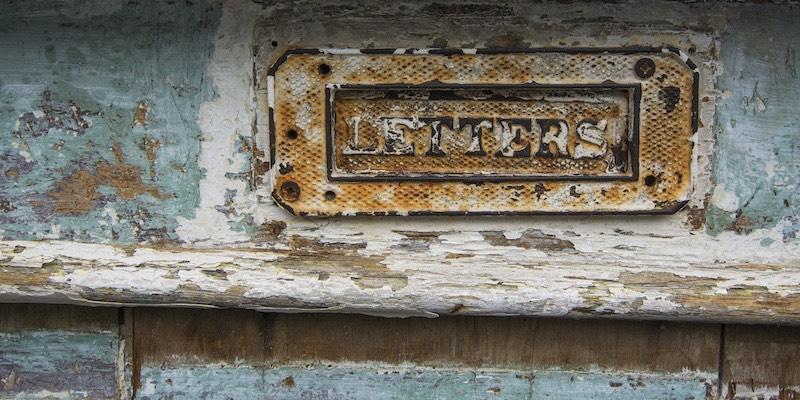 Nina Martin - Newsletter - Letter box
