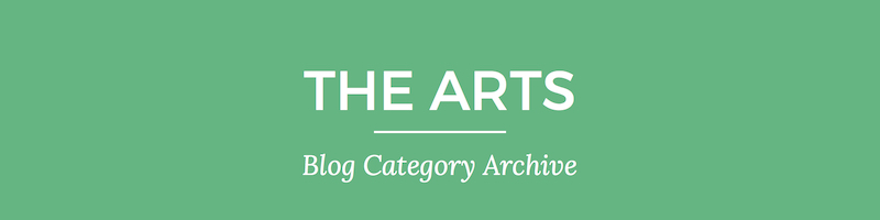 Blog archive header 4 The Arts | Nina Martin