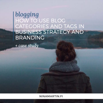 How to use blog categories and tags in your business strategy and branding