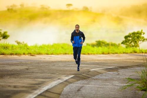Lifestyle change, running