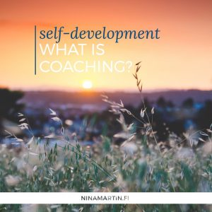 Self-development What is coaching